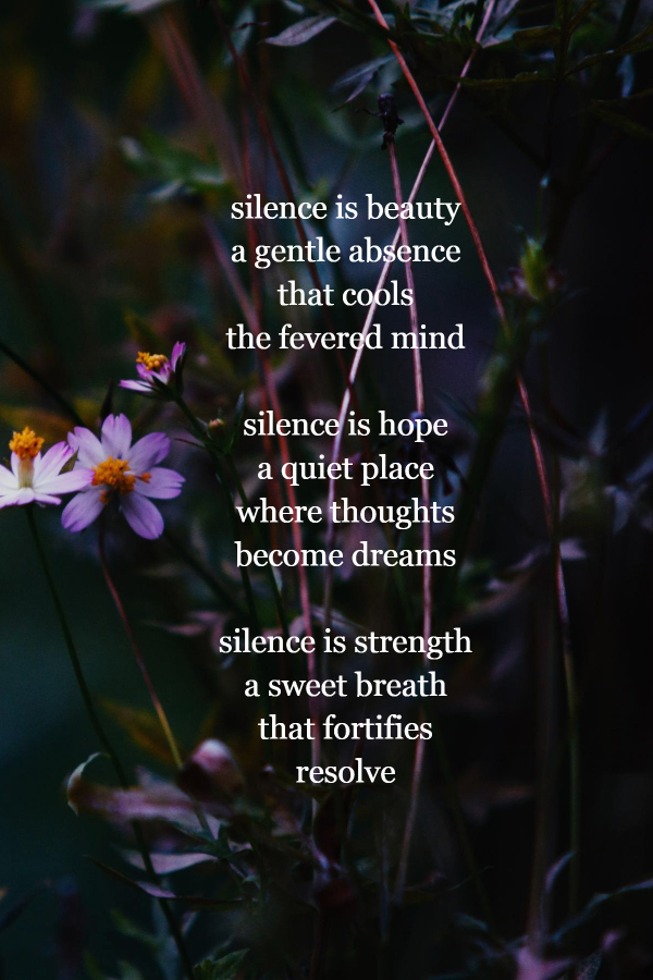 poems about being alone | Silence Is Beauty